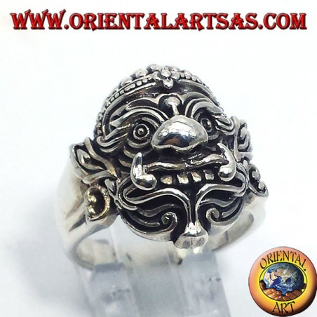 Hanuman Thai silver ring