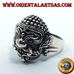 Hanuman Thai silver ring