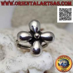 Silberring in Form einer...