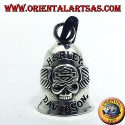 Bell a Harley Davidson argent