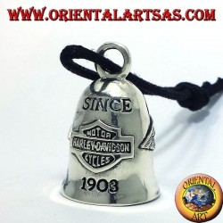 Bell Harley Davidson silver