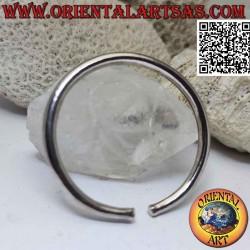 Smooth 925 ‰ silver rigid...