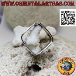Quadratischer Silberring...