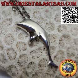 Silberanhänger, Delfin der...