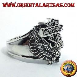 Silberring Harley Davidson Adler