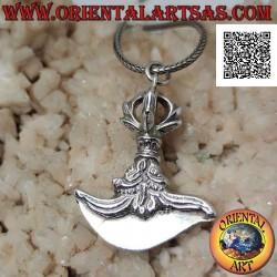 Silver pendant, Tibetan...