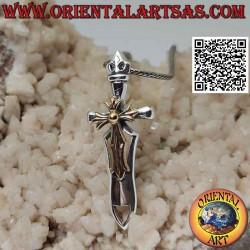 Colgante de plata espada...