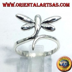 dragonflies silver ring