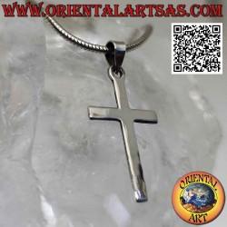 Colgante de plata de cruz...