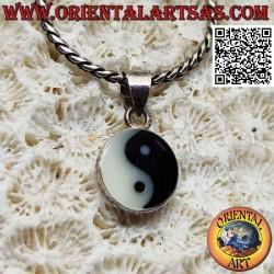 Colgante de plata yin yang...