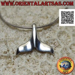 Silver pendant in the shape...