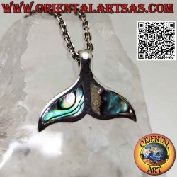 Flat whale tail silver...
