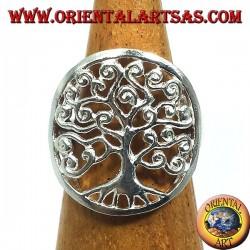 Anello in argento, Albero della Vita