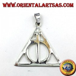silver pendant Deathly Hallows