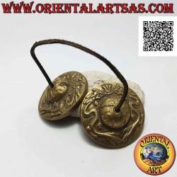 Tibetan cymbals or Tingshas...