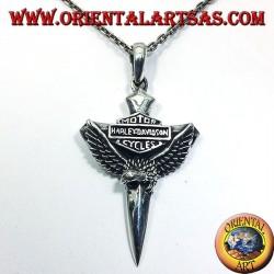 pendentif en argent Harley Davidson Aigle