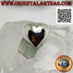 Glatter Silberring in Form...