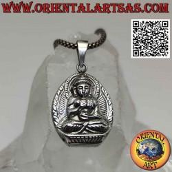 Colgante de plata, el Buda...
