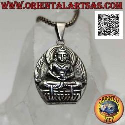Silver pendant, Buddha...