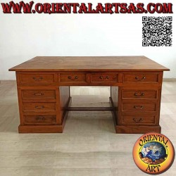 """""""King"""" desk with 10..."""