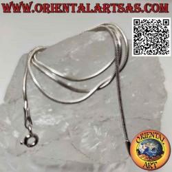 Collana catenina in argento...