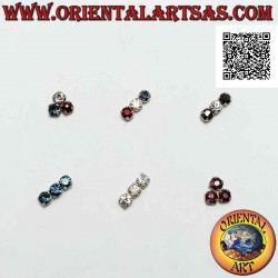 Mini orecchino in argento,...