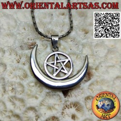 Wiccan silver pendant...