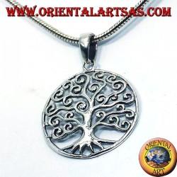 Ciondolo albero della vita Klimt in argento