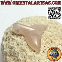 Rose Quartz Whale Tail...