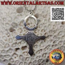 Silver pendant, Tuareg...