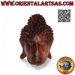 Scultura testa di Buddha...