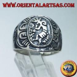 anello in argento Kokopelli