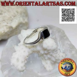Silver ring with...
