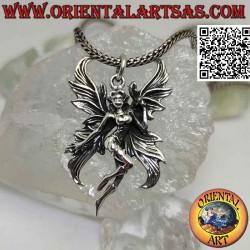 Silver pendant, the vain...