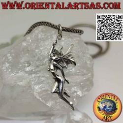 Silver pendant, the fairy...