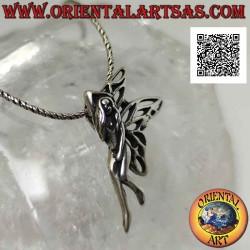 Silver pendant, the...