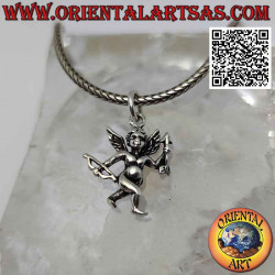 Silver pendant, the angel...