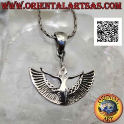 Silver pendant, Isis...