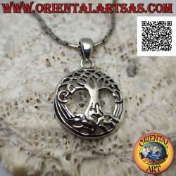 Silver pendant, Yggdrasil...