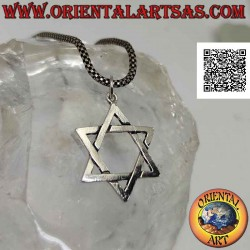 Silver pendant, star of...
