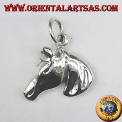 silver pendant horse head