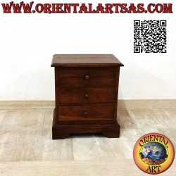 Low bedside table with...