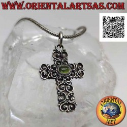 Silver pendant, handmade...