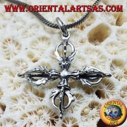 Vajra pendant in silver