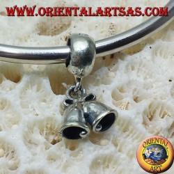 серебряные брелоки подвески, колокольчики