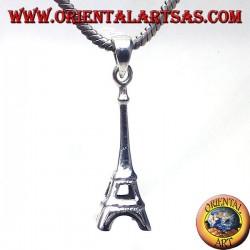 silver pendant Eiffel Tower