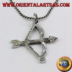 ciondolo in argento Arco con freccia