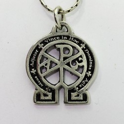 chrismon pendant in silver