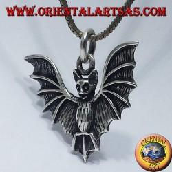 Ciondolo  in argento pipistrello