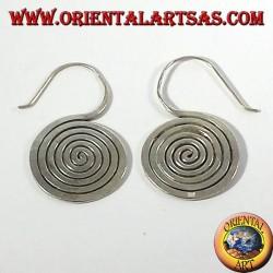 boucles d'oreilles en argent, Spiral Karen